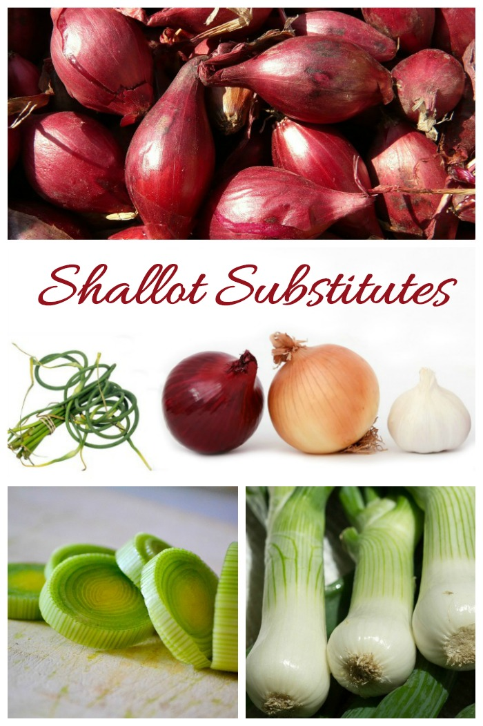 These shallot substitutes have a similar taste to the real thing. Use them if you don't have shallots on hand.