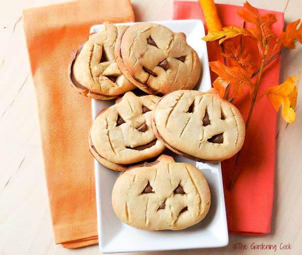 Spooky Halloween Pumpkin Cookies