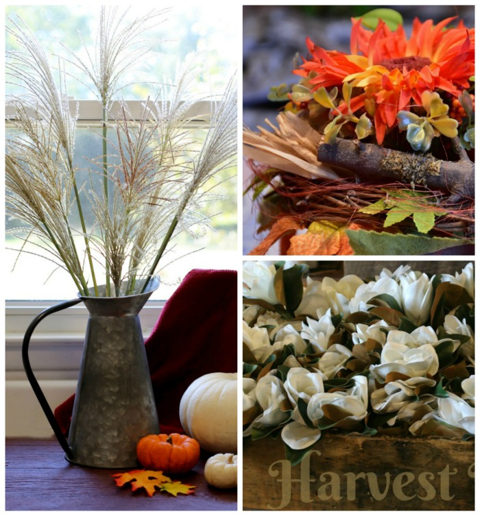 Natural garden elements are perfect for fall decorating. See my list of items to use in your projects.