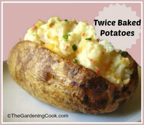 Slimmed Down Twice Baked Potato