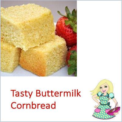 Buttermilk Corn Bread is a Delicious Side Dish