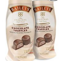 BAILEYS Original Irish Cream Non-Alcoholic Chocolate Truffles Two 1.1-Pound Jars
