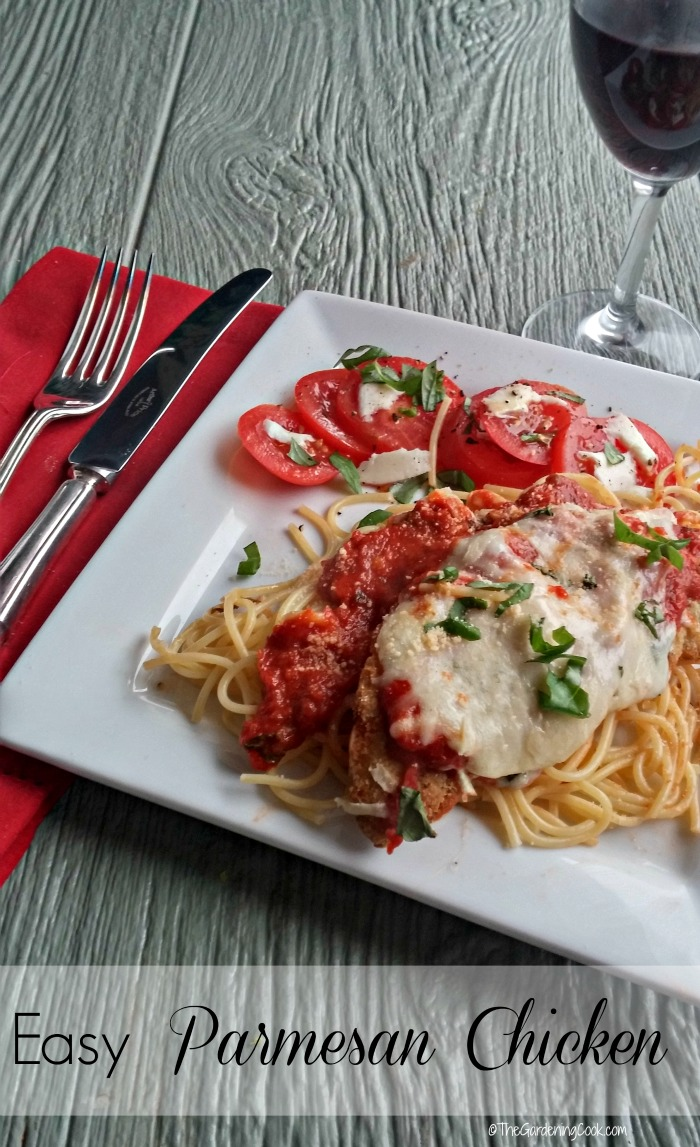 Easy Parmesan Chicken - Italian Delight!