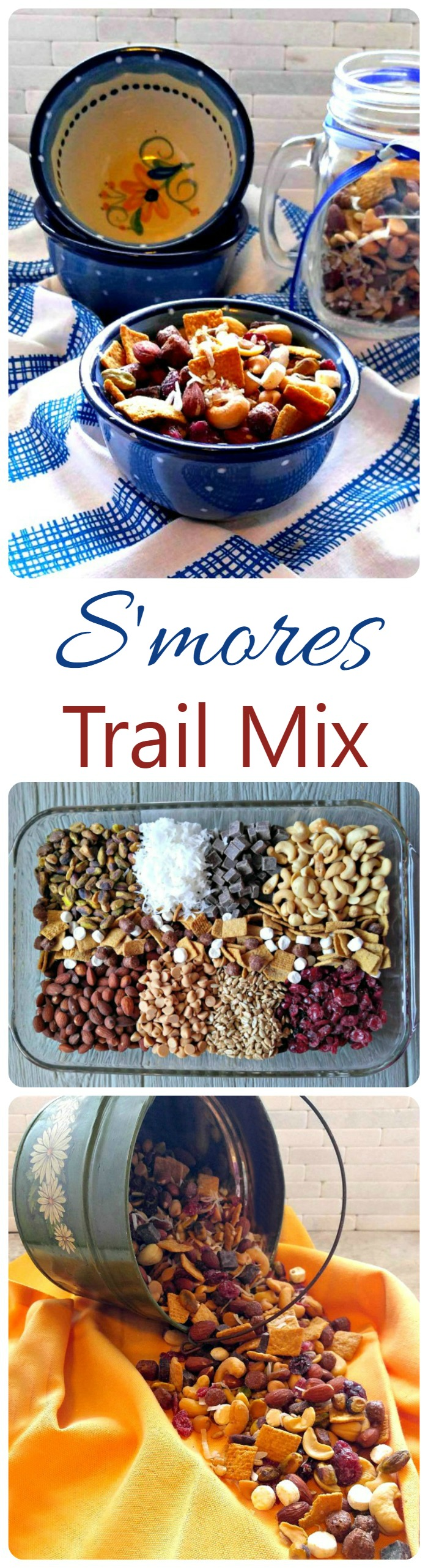 S'mores Trail Mix - Fun & Tasty Snack
