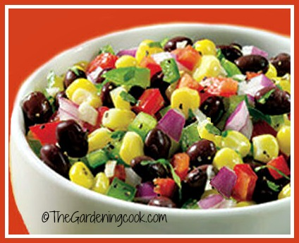 Black bean Salsa with Corn and Tomatoes