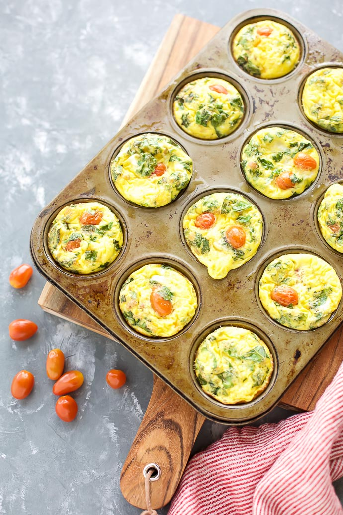 Quiche Cups with Tomato and Prosciutto · Seasonal Cravings