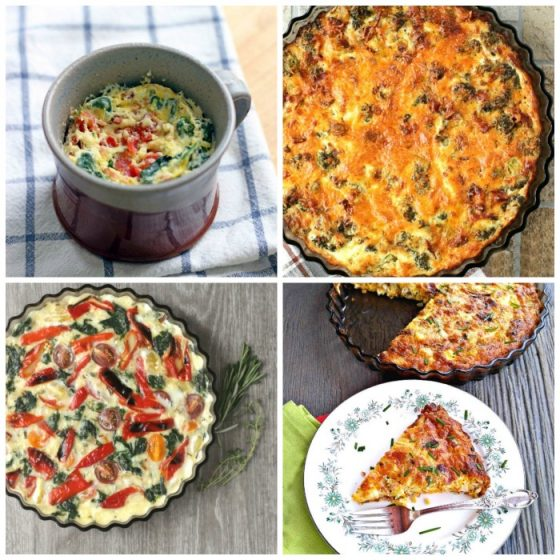 Basic quiche recipes