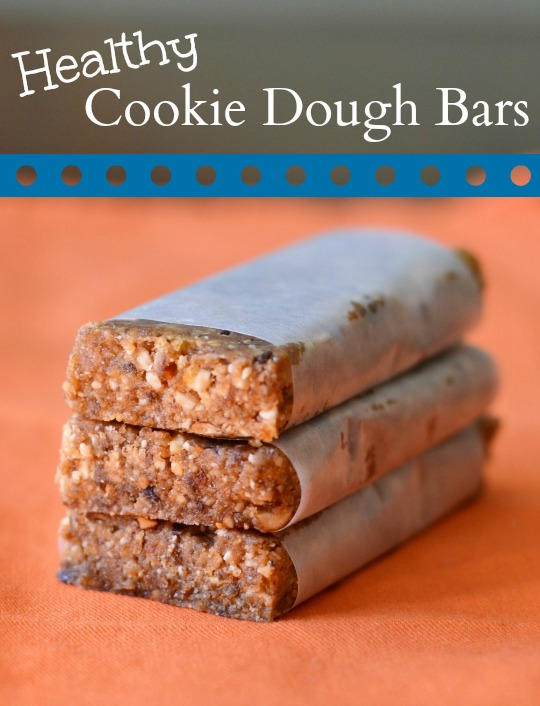 Healthy Cookie Dough Bars