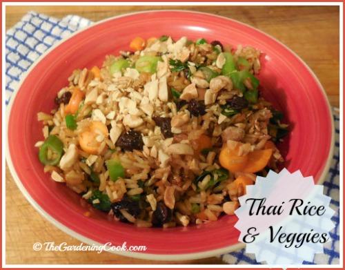 Thai Vegetable Rice