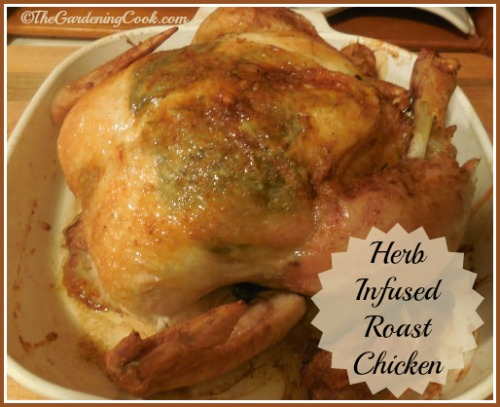 Roast Chicken with Infused Herbs