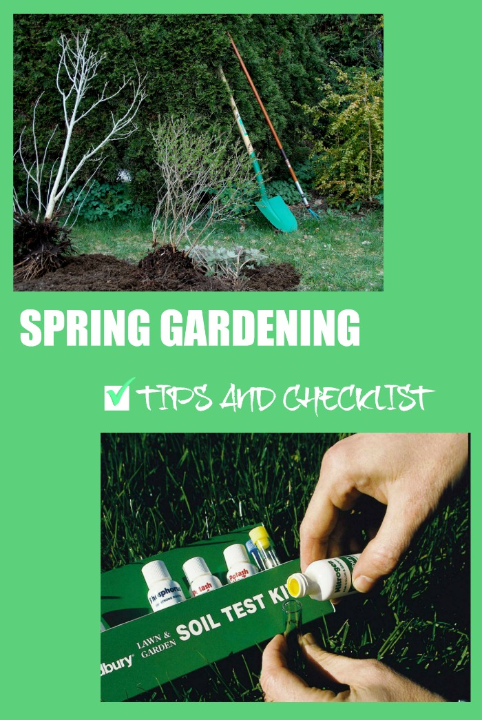 Spring garden tips and check list