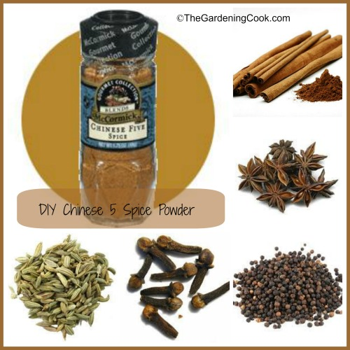 Chinese Five Spice Powder - Make your Own DIY