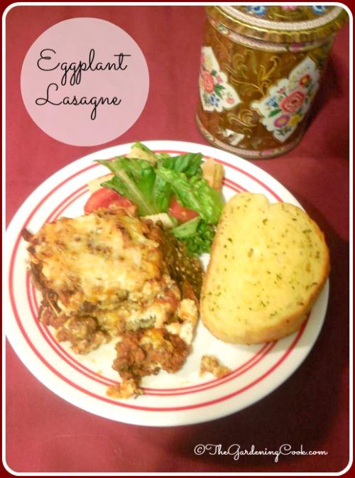 Cheesy Eggplant Lasagne