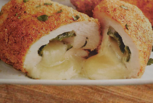 Monterey Jack Stuffed Chicken Bundles