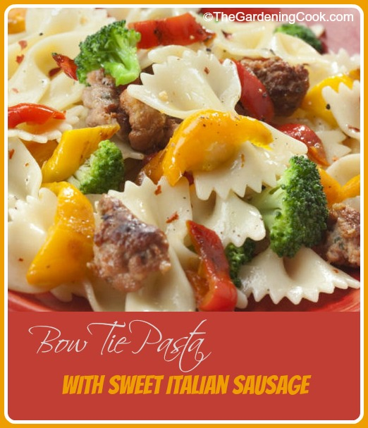 Bow Tie Pasta Salad With Sweet Italian Sausages