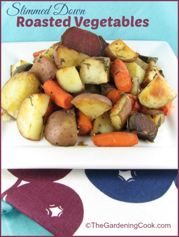 Slimmed Down Roasted Root Vegetables