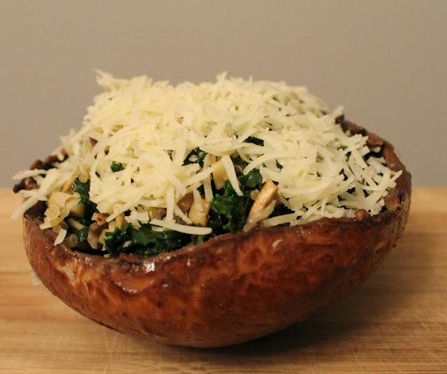 Stuffed Portobello Mushrooms with Quinoa