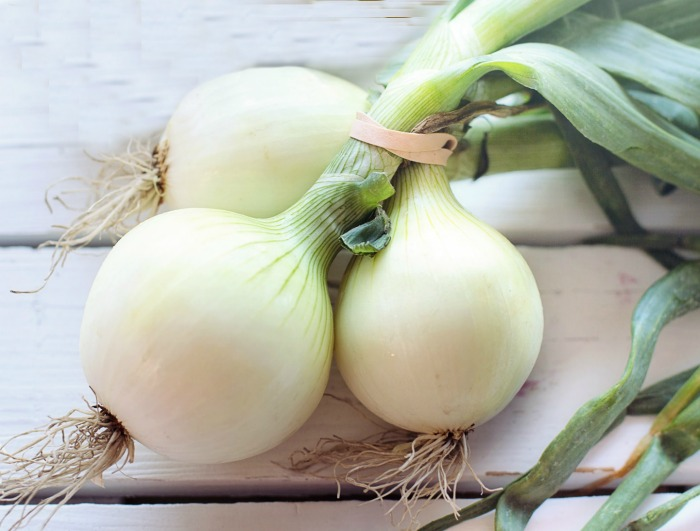 white onions are good in Mexican recipes and raw dishes