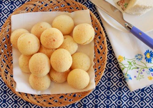 Brazilian Gluten Free Treat - Pão de Queijo