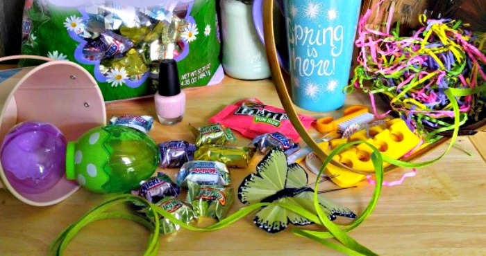 supplies for Easter basket