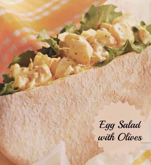 Curried Egg Salad with Olives