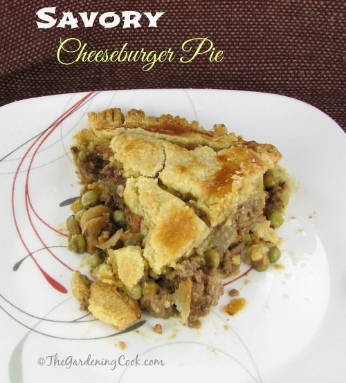 Savory Cheeseburger Pie
