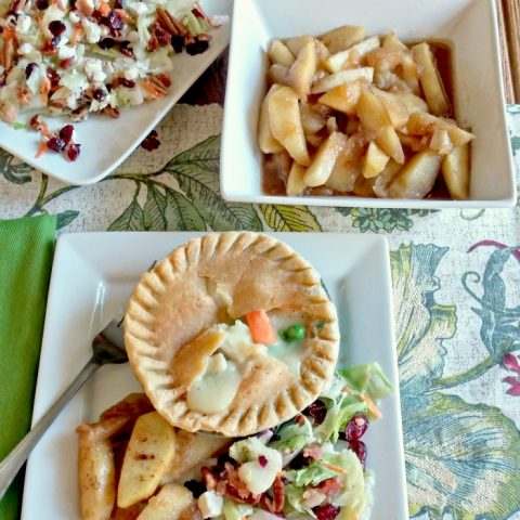 Chicken Pot Pie - Cinnamon Apple & Pear