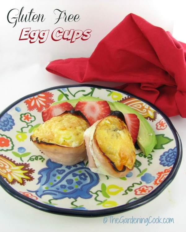 Gluten Free Egg Cups - Healthy Breakfast Idea