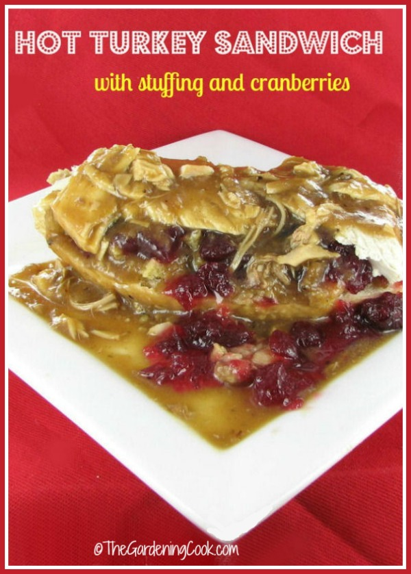 Hot Turkey Sandwich With Cranberries Amp Stuffing