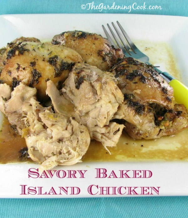 Savory Baked Island Chicken