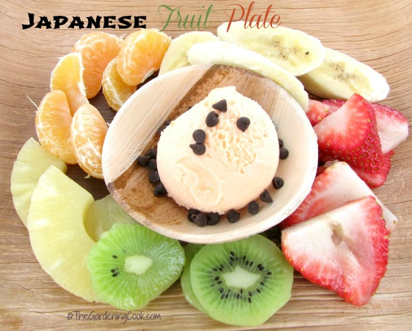 Japanese Fruit Plate - Healthy Dessert
