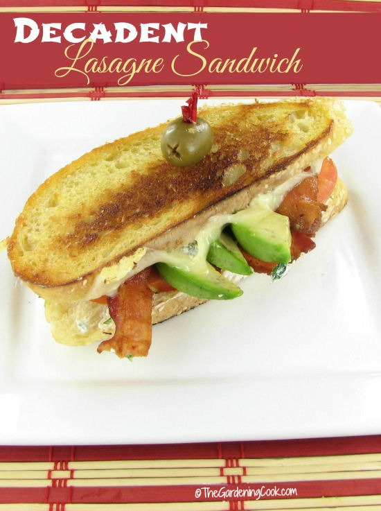 Lasagna Sandwich Recipe