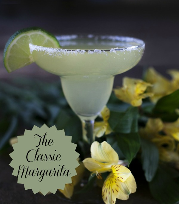 Classic Tequila Margarita with Lime