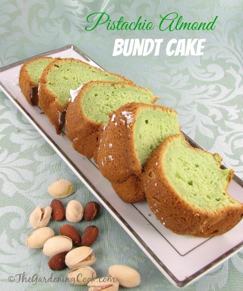Easy Pistachio and Almond Cake Recipe