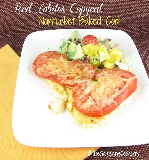 Copy Cat Recipe: Red Lobster Nantucket Baked Cod
