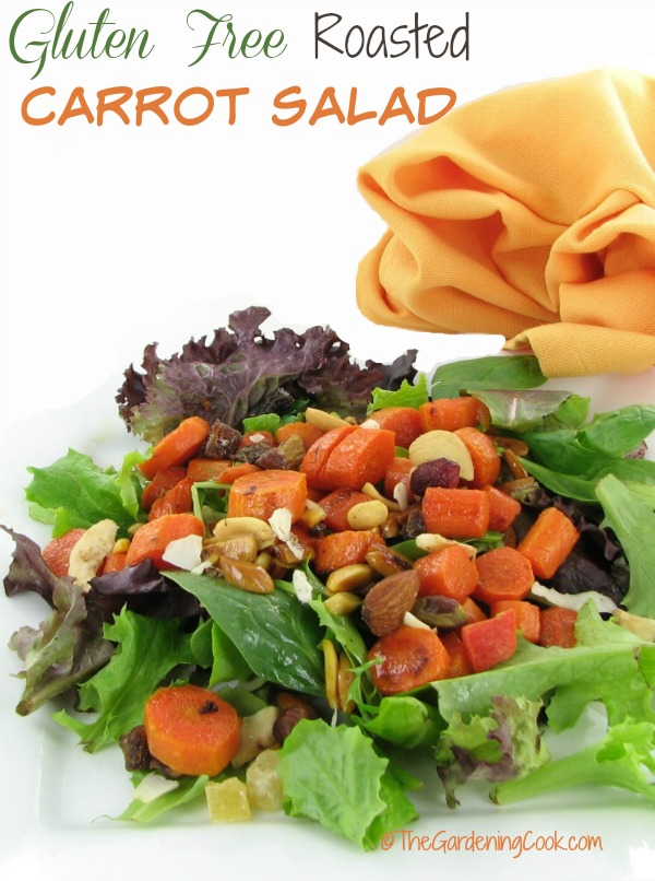 Roasted Carrot Salad - Healthy Gluten Free Side Dish