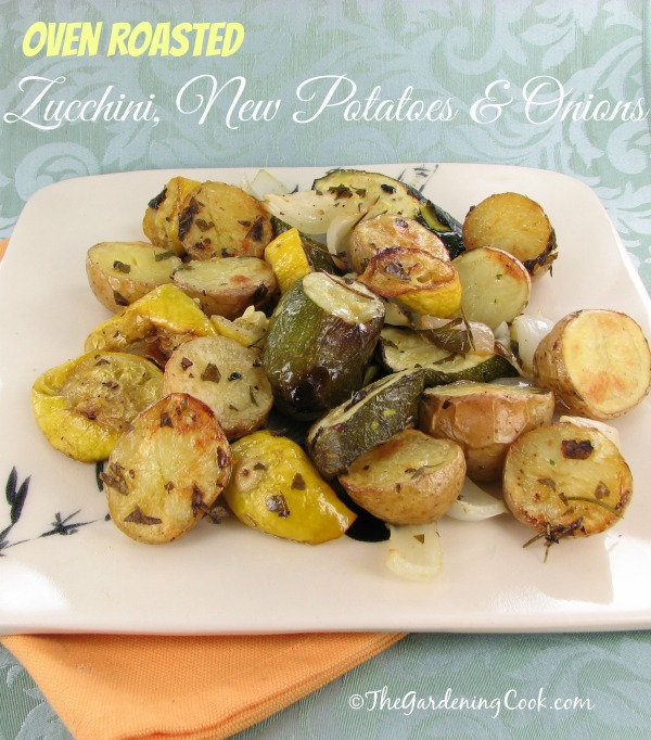 Roasted Garden Vegetables with Fresh Herbs