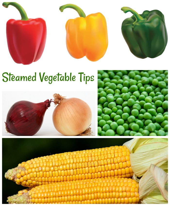 Get tips and times for steaming vegetables