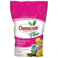 Osmocote 274850 Plus Outdoor and Indoor Smart Release Plant Food Plant Fertilizer (4 Pack), 8 lb