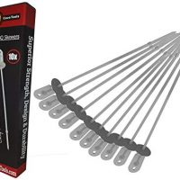 Cave Tools Barbecue Skewers Set - Stainless Steel Wide BBQ Kabob Sticks