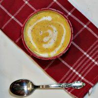 Crockpot butternut squash soup