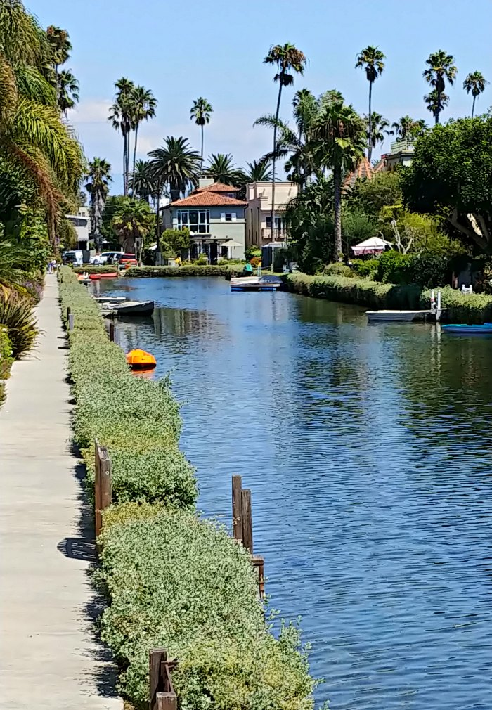 Venice Beach Photo Gallery - Canal on Venice Beach Historic District