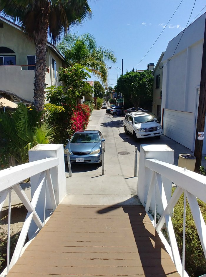 Street parking near Venice Beach Canals