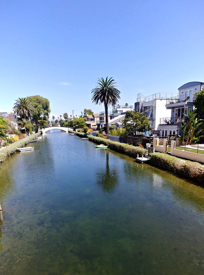 Scenic View of the Venice Canals