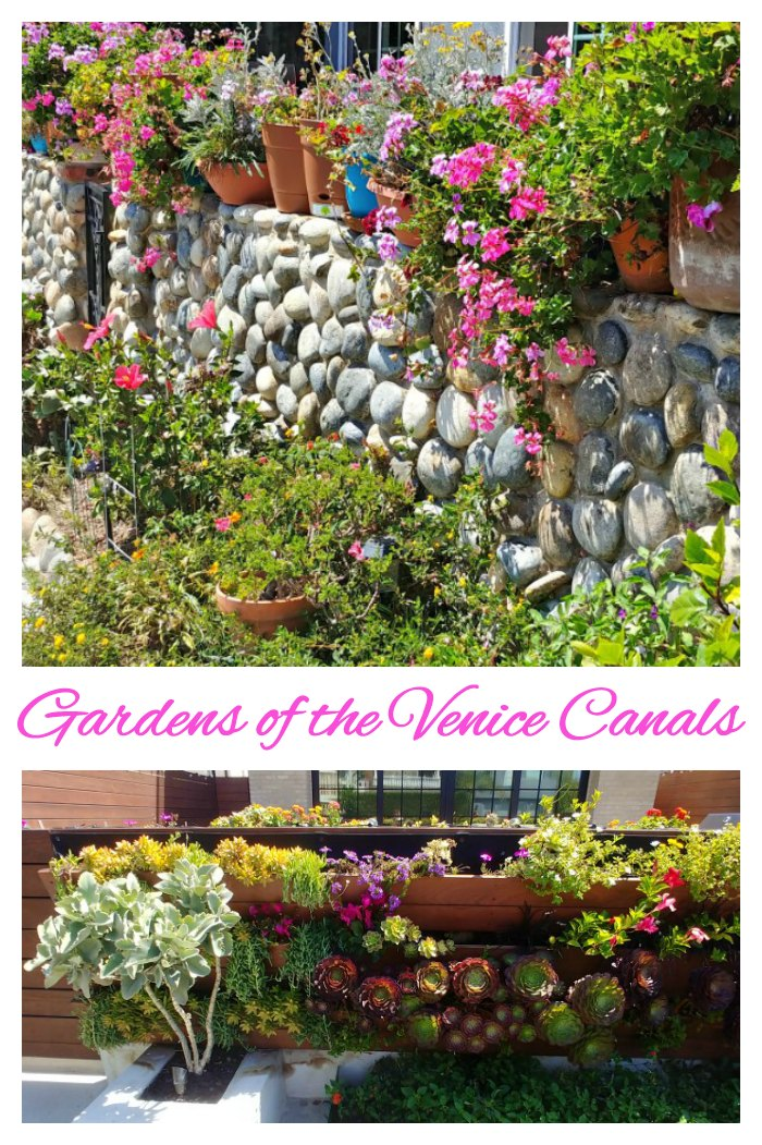 Venice Canals Photo Gallery - Gardens of the Venice Historic District in LA