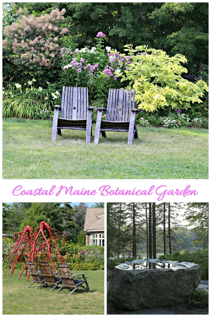 Coastal Maine Botanical Garden is located in Boothbay Maine