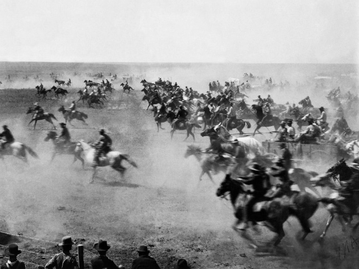 Land Rush of Oklahoma Photo