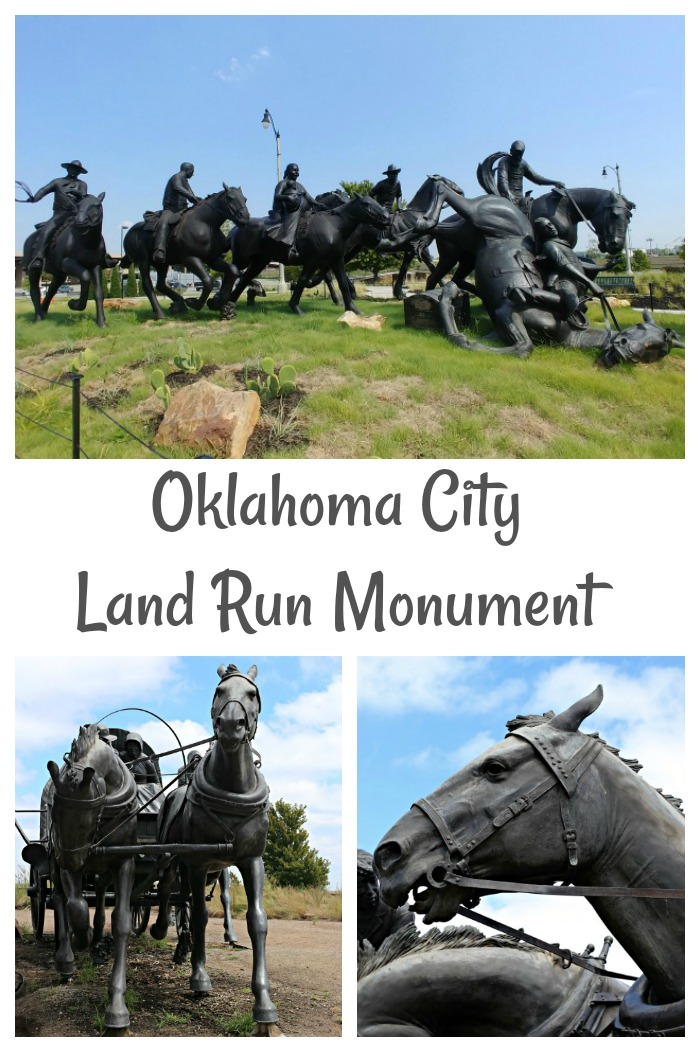 Centennial Land Run Monument in Oklahoma City