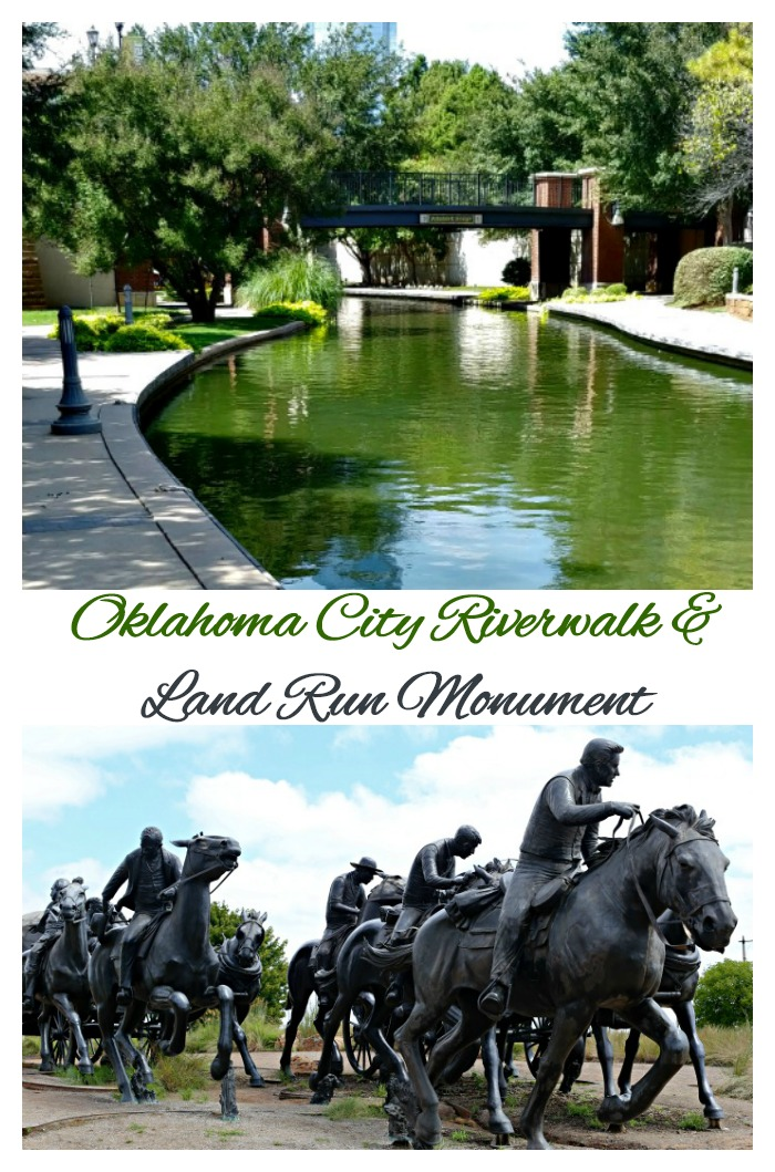 Oklahoma City Riverwalk and Land Run Monument
