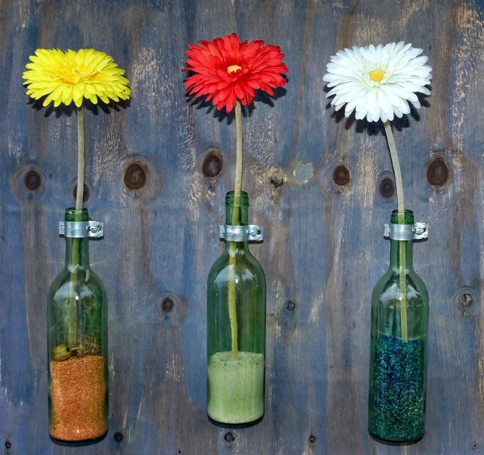 Bottle Wall Garden